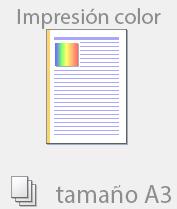 Color tamaño A3